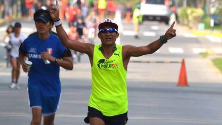 Atleta lambayecano gana maratón por segundo año consecutivo