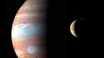 Captan olas de lava en el volcán más grande de la luna de Júpiter