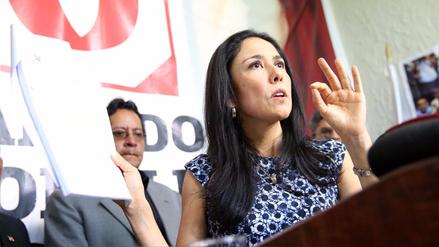 Nadine Heredia respondió a Alan García: