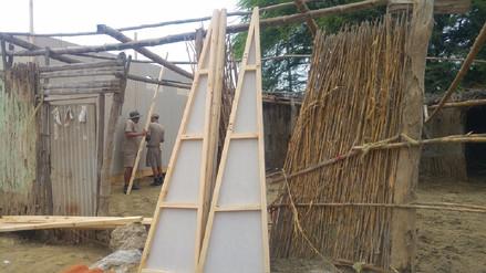 Se instalarán cuatro mil módulos de viviendas para damnificados en Piura