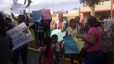 Chincha: exigen justicia para menor presuntamente ultrajada por su tío