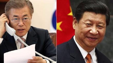 China y Corea del Sur acordaron trabajar para desnuclearizar Corea del Norte