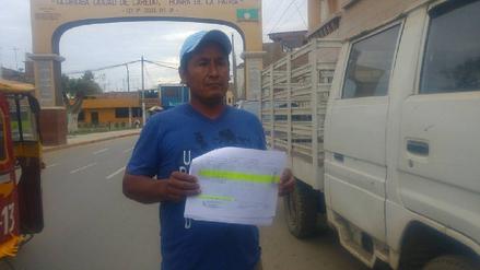 Laredo: denuncian entrega de donativos a falsos damnificados
