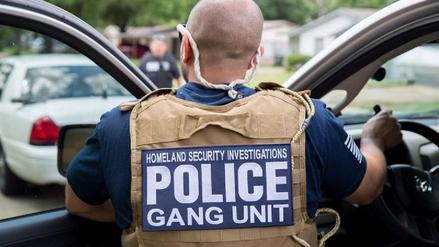 Detienen a casi 1400 pandilleros en EE.UU. en un gran operativo policial