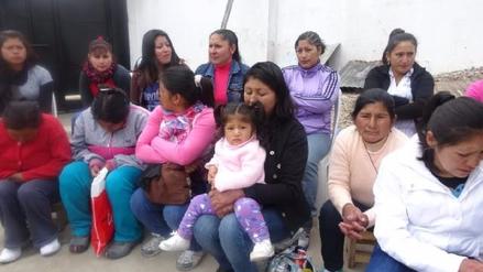 Internas del penal de La Oroya son agasajadas por el Día de la Madre