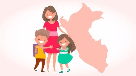 Infografía   Más de 8 millones de madres peruanas celebran su día