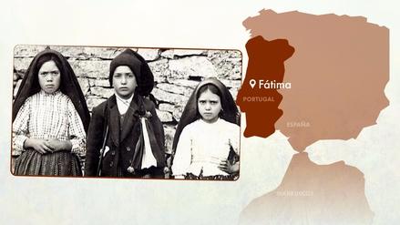 Interactivo | A 100 años de la aparición de la Virgen de Fátima