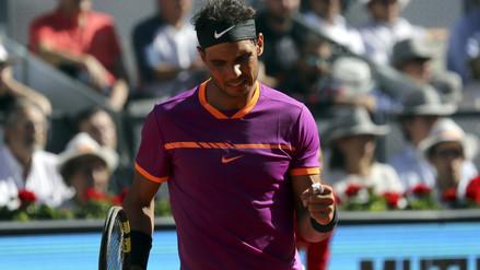 Rafael Nadal derrotó a Djokovic y avanzó a la final del Masters de Madrid