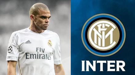 Sin lugar en el Real Madrid, Pepe firmaría por el Inter de Milán