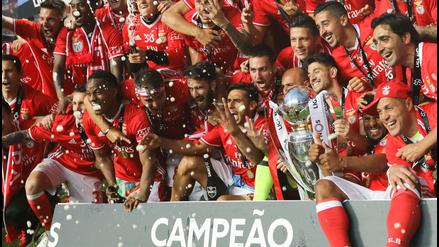 Las mejores imágenes del nuevo título de André Carrillo en Portugal