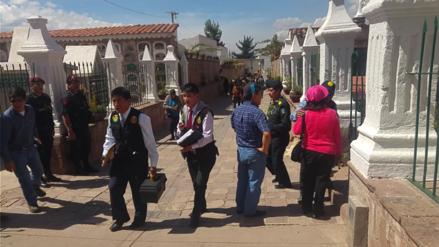 Abandonan feto de cinco meses en cementerio de La Almudena