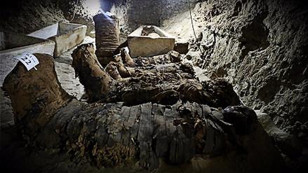 Descubren la necrópolis más grande al centro de Egipto con momias intactas