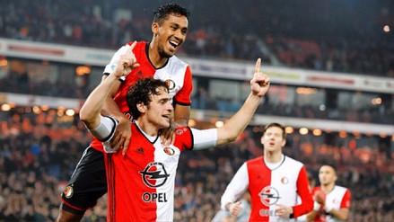 ¡Campeón! Feyenoord de Renato Tapia alzó el título de la liga de Holanda