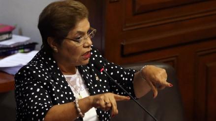 Luz Salgado dice que no hay venganza en interpelaciones por el tema indulto
