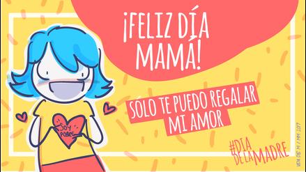 Mamá, en tu día solo te puedo regalar mi amor...