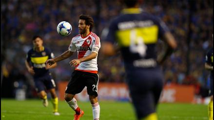 Boca perdió ante River y puso en peligro su liderato en Argentina