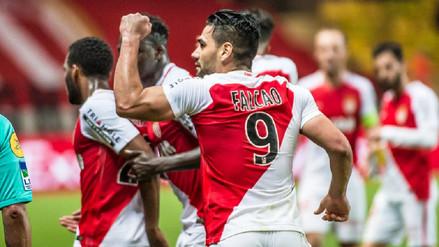 Mónaco goleó al Lille y es virtual campeón en Francia