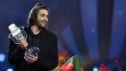 Eurovisión 2017: Salvador Sobral le dio a Portugal su primer trofeo