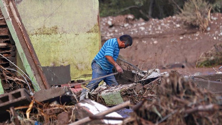 Temporal en Chile deja 2 muertos, 2.306 damnificados y unos 13.000 aislados