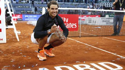 Rafael Nadal sigue en racha y se quedó con el Masters 1000 de Madrid
