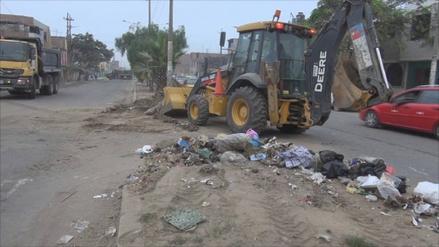 Trujillo: campaña conjunta retira 600 metros cúbicos de basura