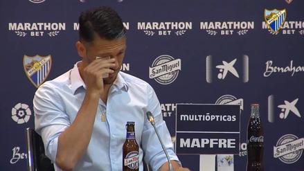Martín Demichelis entre lágrimas: