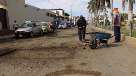Municipio de Chiclayo inicia mejoramiento de pistas en el centro de la ciudad