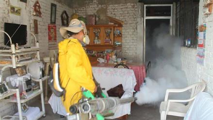 Tres mil viviendas se fumigarán contra el dengue en el distrito de Reque