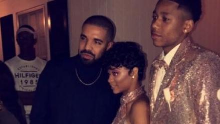 Drake fue el invitado de lujo en graduación de su prima