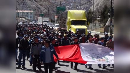 La Oroya: gremios realizarán movilización por la Carretera Central