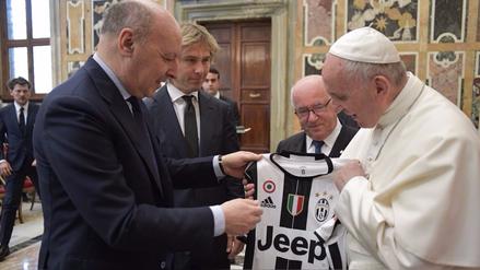 Papa Francisco envió un mensaje a todos los futbolistas del mundo