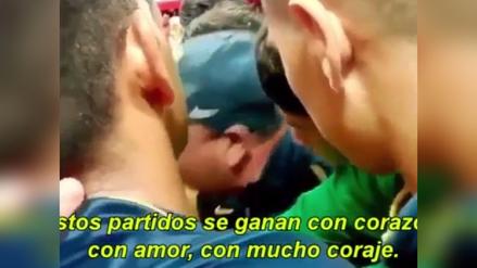 La emotiva arenga del técnico de Rosario Central a sus jugadores