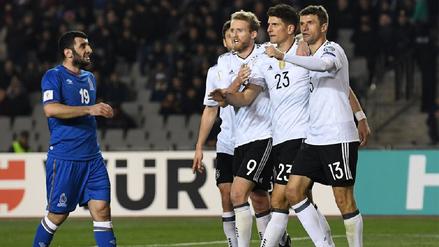 Estos son los convocados de Alemania para la Copa Confederaciones