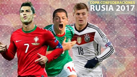 Copa Confederaciones Rusia 2017: fixture, fecha, hora y canal