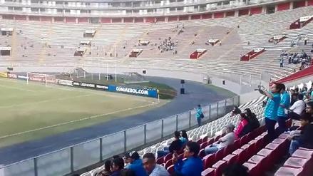 Estadio Nacional lució desolado en la previa del Cristal vs. Santa Fe
