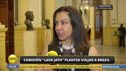 """Espinoza: """"La Comisión Lava Jato necesita información de primera mano"""""""