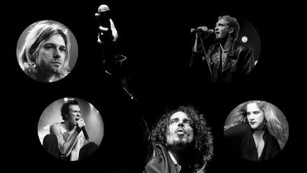 Chris Cornell y los ídolos caídos del grunge