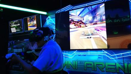 Inauguran un centro de juegos de realidad virtual en el Perú