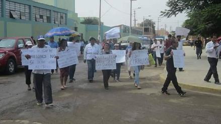 Virú: cuestionan construcción de mercado en zona de riesgo
