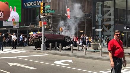 Un muerto y 22 heridos dejó un atropello múltiple en Times Square