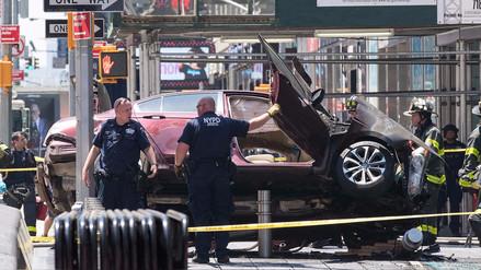 El atropello múltiple en Times Square en imágenes