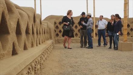 Trujillo: Unesco visita Complejo Arqueológico de Chan Chan