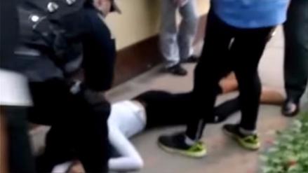 Una menor fue herida de bala al resistirse al robo de su celular en Los Olivos