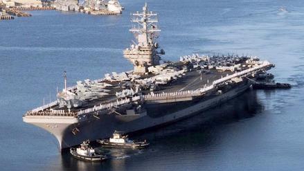 EE.UU. desplegó otro portaaviones nuclear cerca de la península de Corea