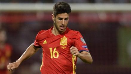 Marco Asensio, novedad en la lista de España contra Colombia y Macedonia