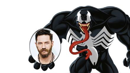 Sony confirmó que Tom Hardy será Venom en próxima película