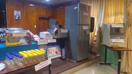 Donan equipos para el Banco de Leche del hospital Regional
