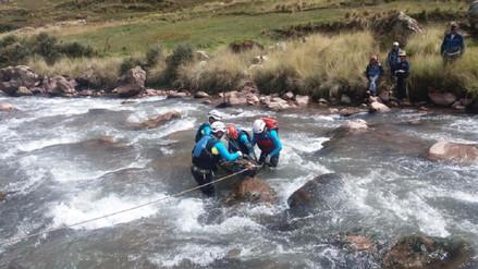 Hallan cuerpo de turista mexicano desaparecido en río Huapura