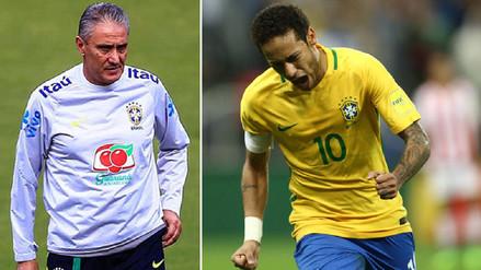 Brasil no contará con Neymar para el amistoso ante Argentina