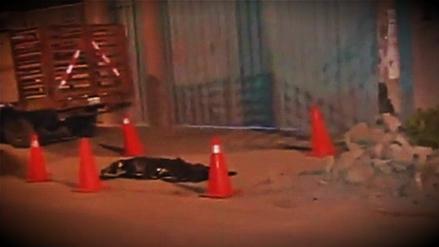Delincuente murió tras tropezar luego de robar un celular en VMT